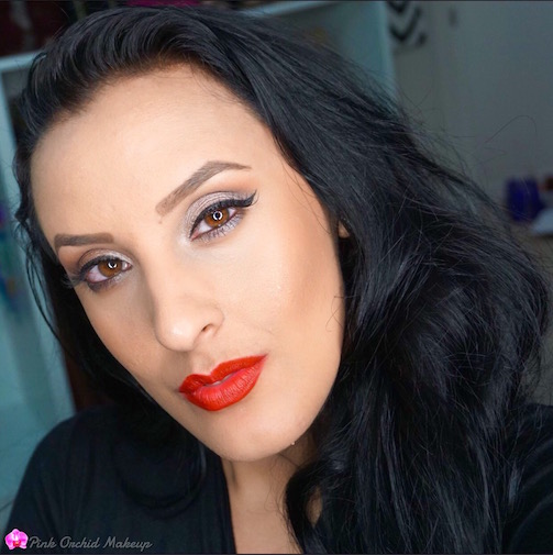 Lancome-Makeup-PinkOrchidMakeup-MOTD-Classic-Red-Lips-+-Neutral-Eyes