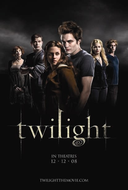 Original film poster for Twilight 2008 movieloversreviews.blogspot.com