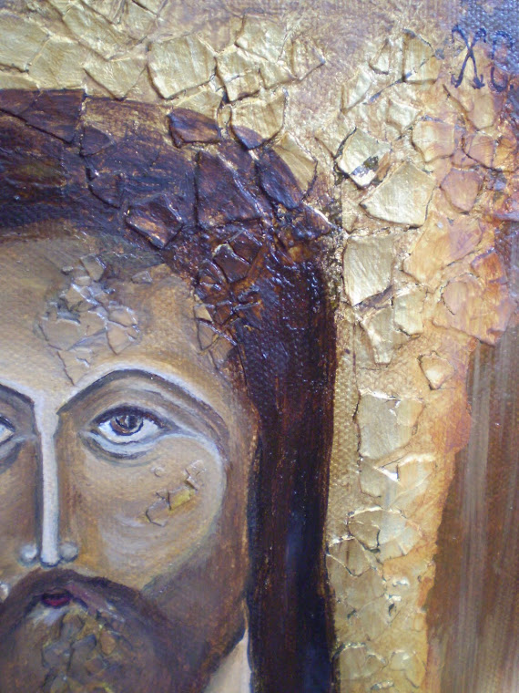icon, THE SAVIOUR, detail