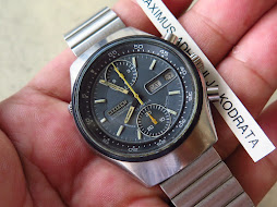 CITIZEN CHRONOGRAPH DARK GREY DIAL - AUTOMATIC