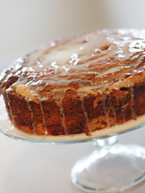 Cinnamon Coffee Cake with Icing
