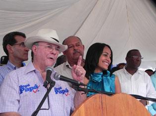 Hipólito  Mejía encabezara actividades en Santiago y el distrito nacional; Luis Abinader estará en Santo Domingo Norte y la Capital.