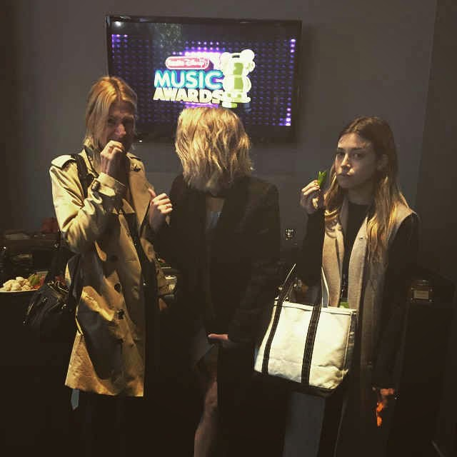 Ashley Benson Backstage at Radio Disney Music Awards 2015