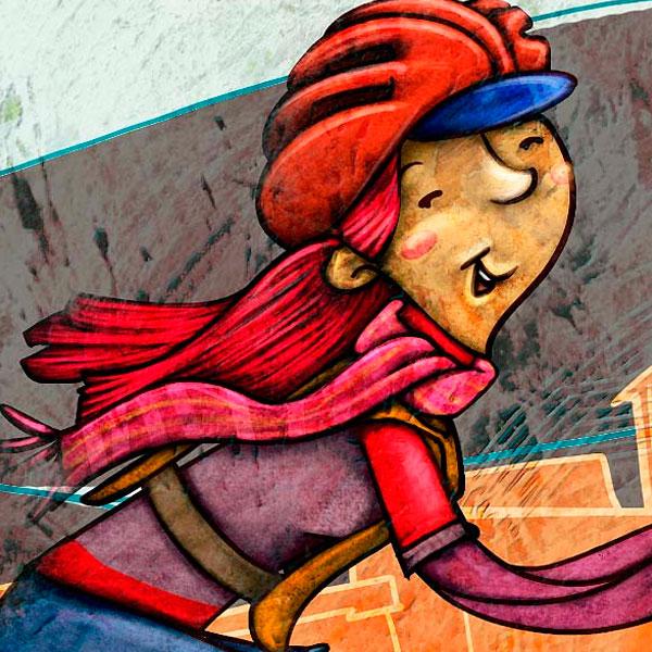 Ilustración. Adelanto Caperucicla