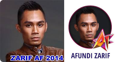Nina Dan Zarif Tersingkir Dari AF 2014 Minggu 8 Suku Akhir