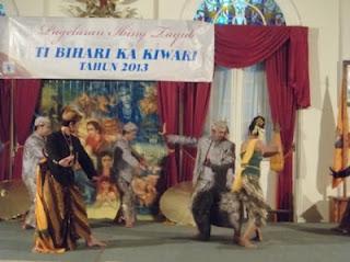 BUDAYA IBING TAYUP DILESTARIKAN KEMBALI di KABUPATEN SUMEDANG