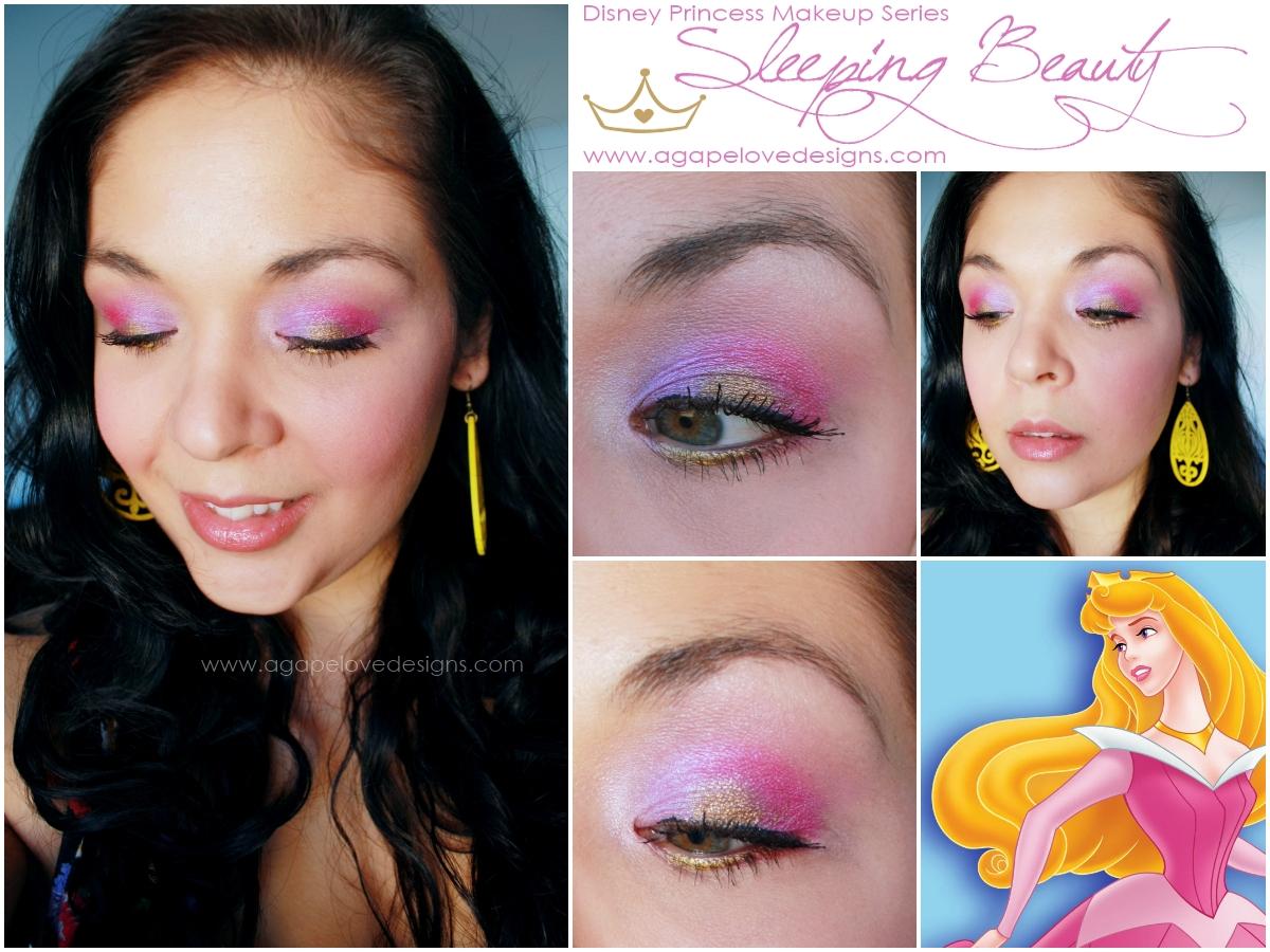 Agape Love Designs Disney Princess Inspired Makeup Series