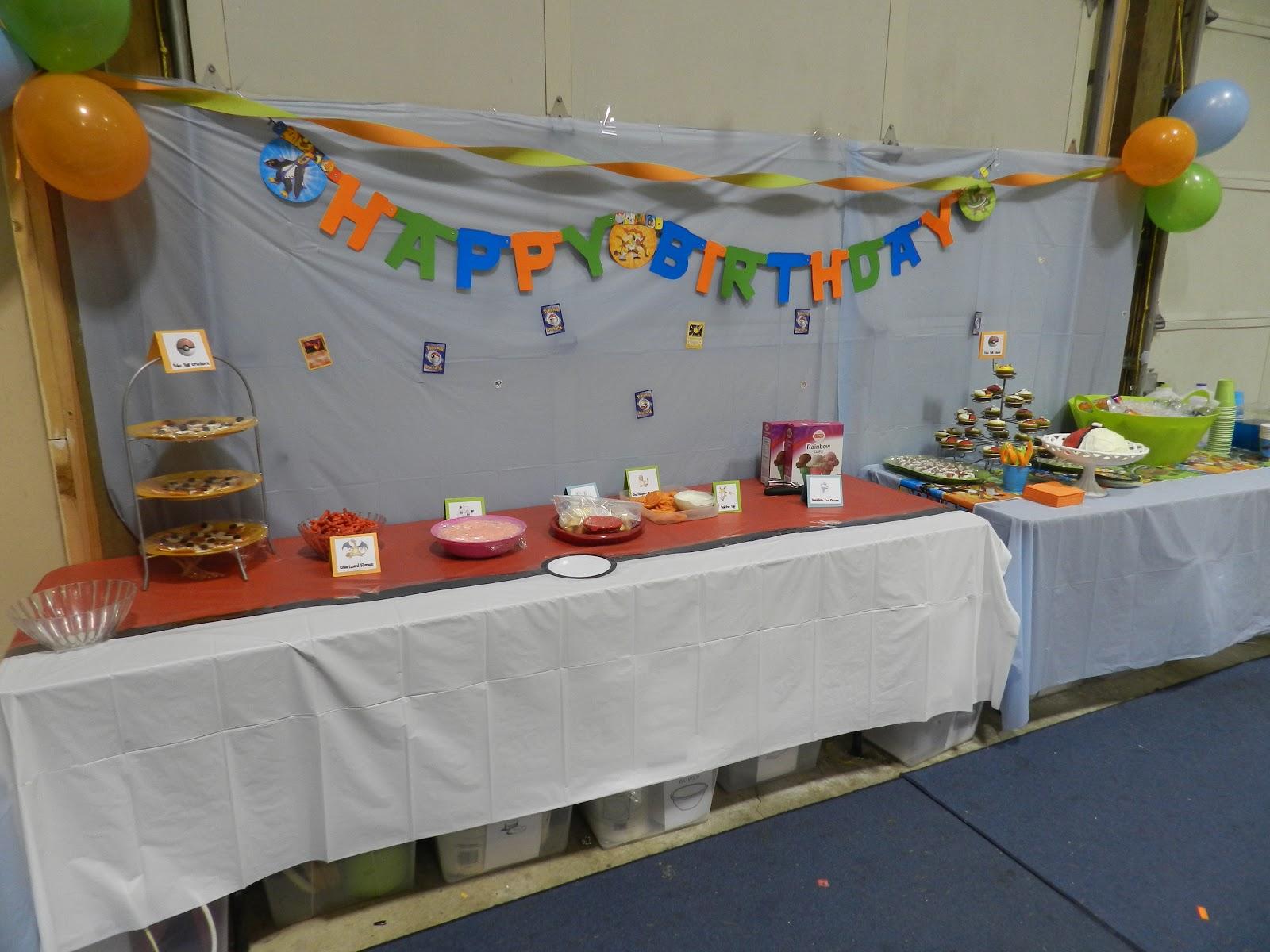 Candy Pretzel Parties Pokemon Birthday Party