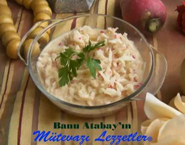 Tahinli Turp Salatası - Videolu Tarifi