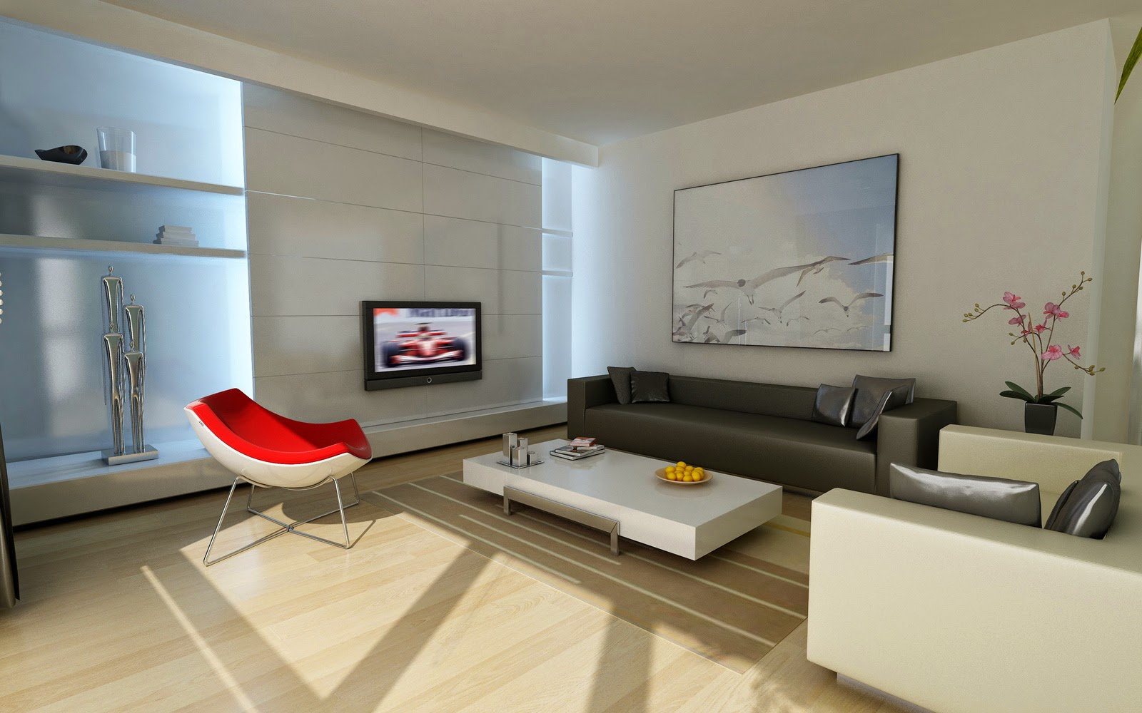 desain rumah tebaru desain ruang tamu minimalis yang cantik