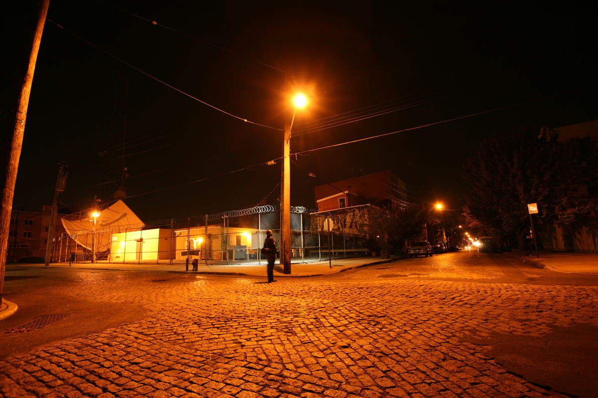 city street lights night - photo #18