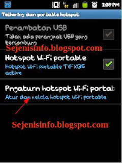 android portable wifi ke laptop
