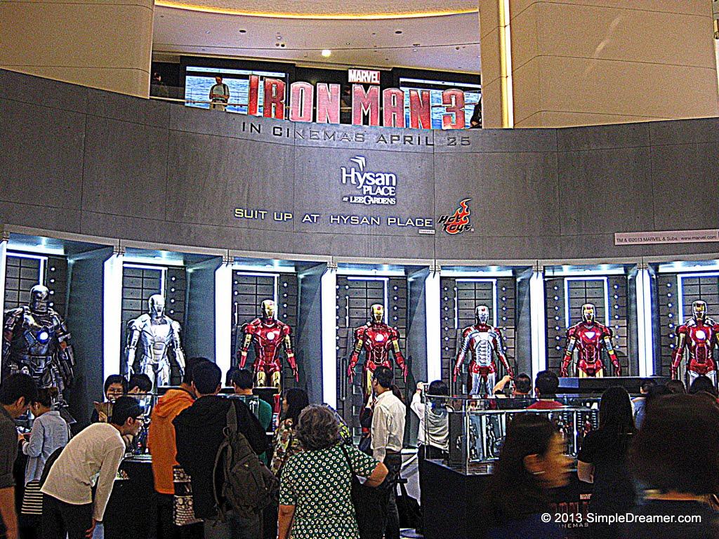 Hong Kong Travel Blog Photos Videos Tips Iron Man 3 Life Size Figures