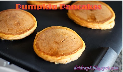pumpkin, protein pancakes, pumpkin pancakes, healthy breakfast, weight loss, clean eating, raw honey, vanilla shakeology, T25 meal plan, Deidra Penrose, nutrition, health tips