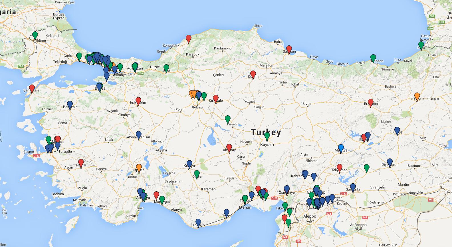 political economy of turkish islamist parties 1970 1990 north