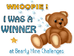 Bearly Mine Winner!