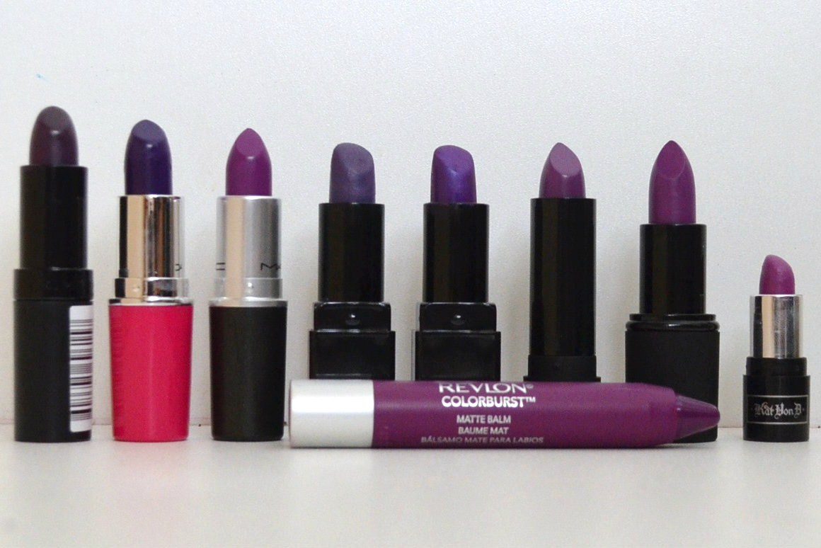 MishMreow: My Purple Lipstick Addiction & Swatches