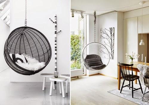 Blog de mbar muebles disfruta de los balancines y los - Sillas colgantes del techo ...