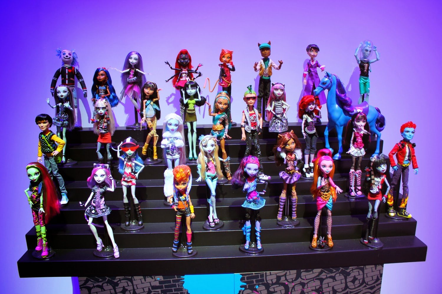Monster High-Pretty : Monster High en la ToyFair 1