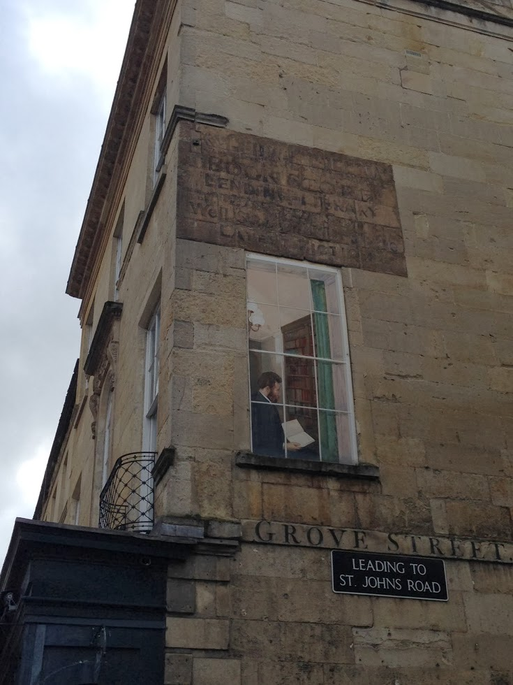 Ghost sign in Bath