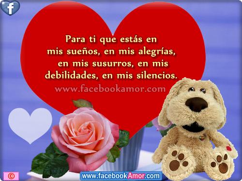 PENSAMIENTOS DE AMOR PARA FACEBOOK - Imágenes Bonitas para Facebook