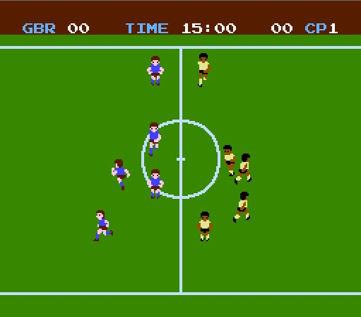 Soccer NES Screenshot 3
