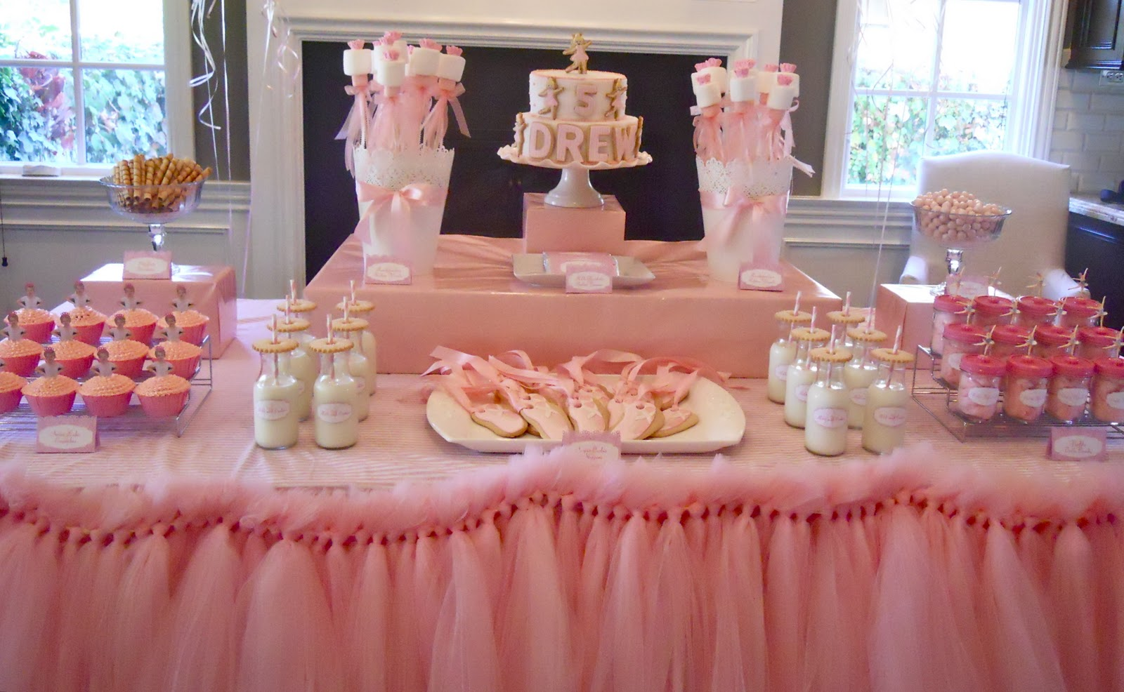 oh sugar events ballerina birthday