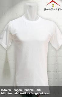 Jual Kaos Polos Putih
