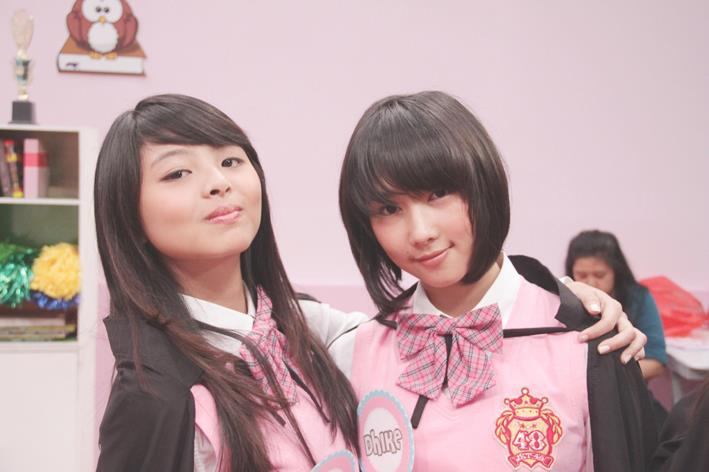 Jeje JKT48 dan Dhike JKT48 magic school JKT48