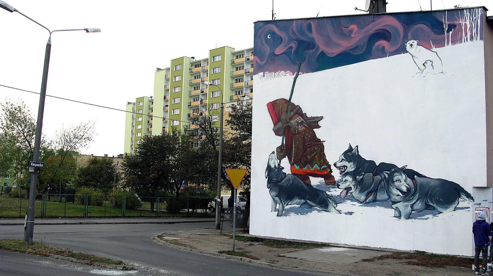 Amazing graffiti by Przemek Blejzyk