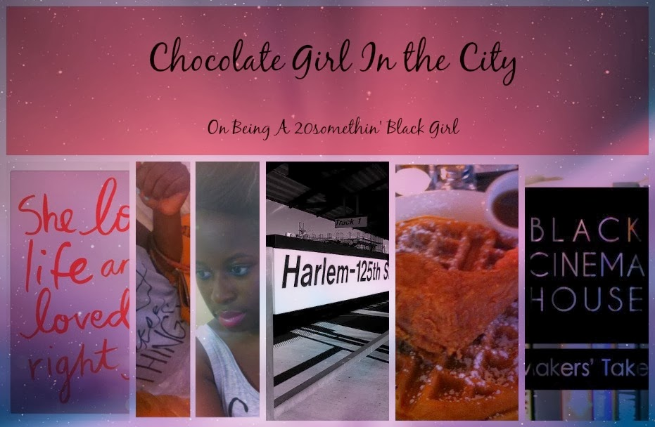 Chocolate Girl In the City
