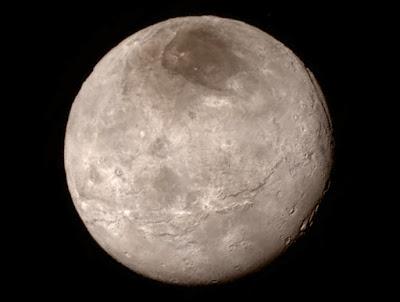 Самый крупный спутник Плутона Харон
