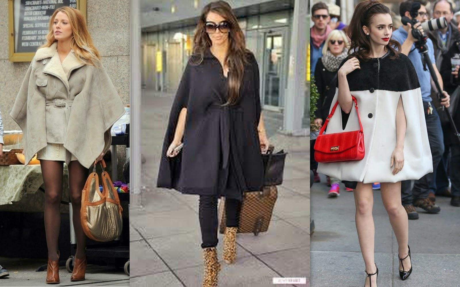 trend, cape trend, celebrities in cape coat, cape trend fall winter inspiration