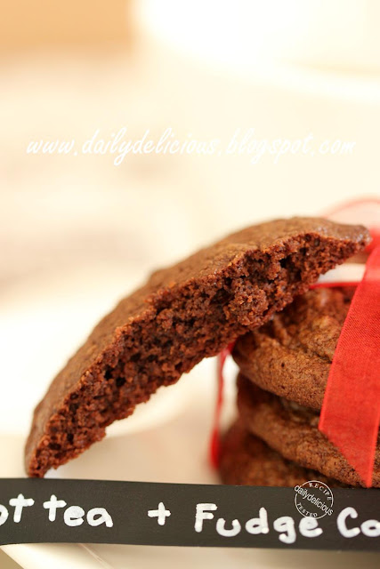 dailydelicious: Chocolate Fudge Cookies: Your request, my happiness!!