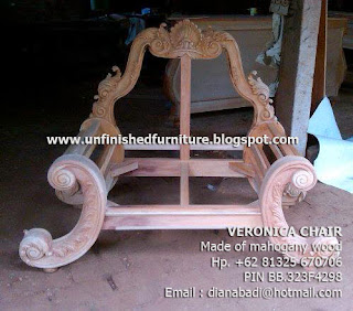 Supplier wooden frame chair mahogany classic wooden mahogany carved unfinished mahogany chair
