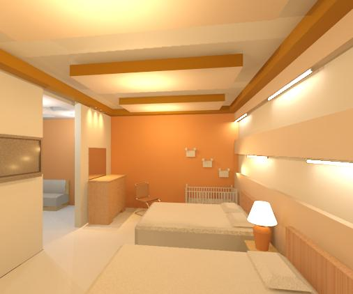 Interiores 3 iluminacion for Iluminacion de pared interior