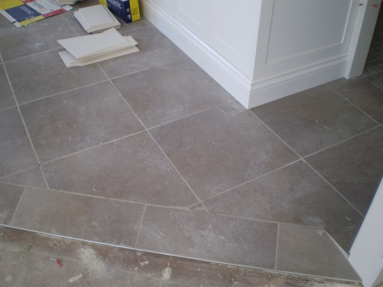 Penny Floor Tile Laundry Room