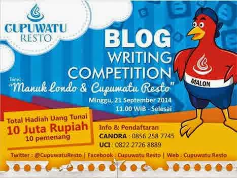 Banner Cupuwatu Blog Writing Competition