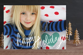 Minted Autograph Petite Holiday Cards Etsy Stalkers