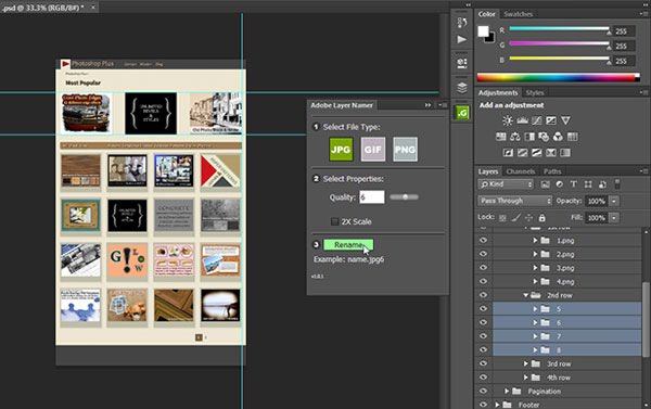 How To Batch Rename Images With ... - Photoshop Essentials