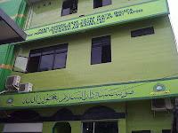 lukis dinding kaligrafi mesjid