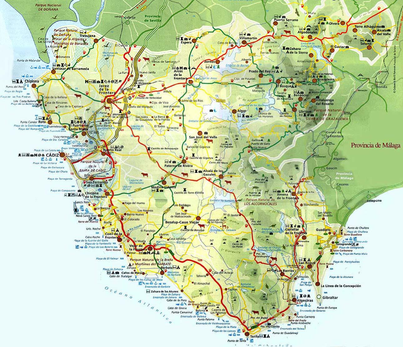 Geografa Todo sobre Andaluca
