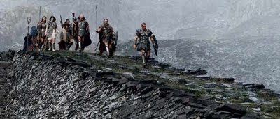 Persée (Sam Worthington) et ses compagnons dans Le choc des titans (2010)