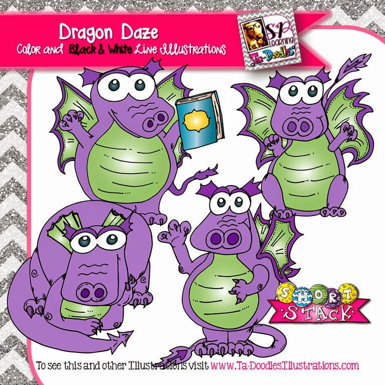 http://www.teacherspayteachers.com/Product/Dragon-Clip-Art-1655694
