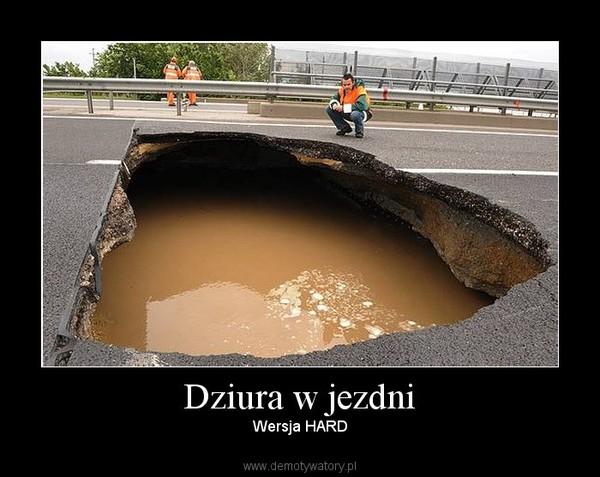 Historia pewnej dziury czyli obserwacje