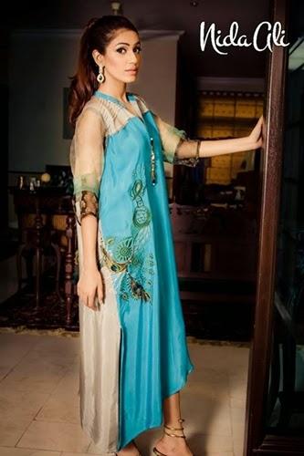 Nida Ali Imtezaaj Eid Collection 2014