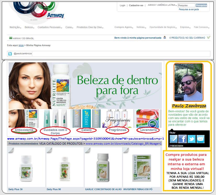 Tenha a sua loja virtual de cosméticos e compre seus produtos com desconto e ainda ganhe dinheiro!