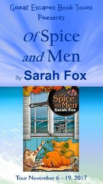 Sarah Fox: here 11/7/17
