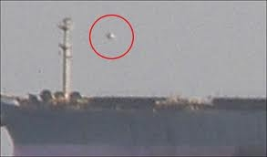 UFOs are found over Aircraft Carrier