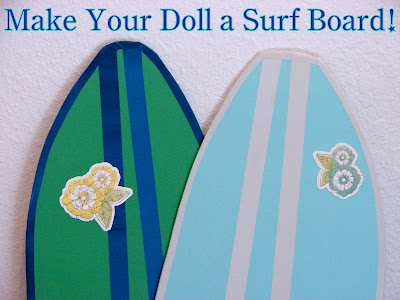 Make a Doll Surfboard